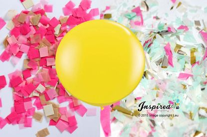Picture of Party Yellow Balloon Birthday Fun