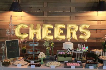 Picture of CHEERS Letters 16 Inch 40 cm Foil Balloons Party Wedding