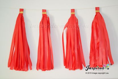 Picture of Red Theme Wedding Garland Valentine's Decor Birthday Party