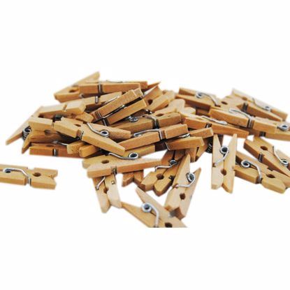 Picture of Wooden Mini Pegs Party Craft