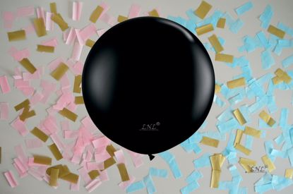 Picture of Gender Reveal Balloons Boy or Girl Baby Pink Blue Confetti