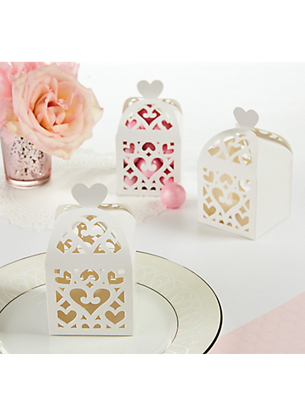 Picture of Wedding Favors Box White Lantern