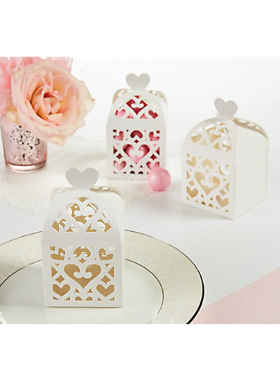 Picture of Wedding Favors Box White Lantern