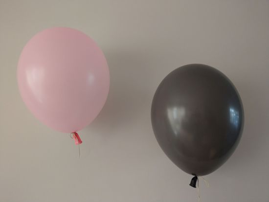 Picture of Blush Pink Copper Balloons Pack