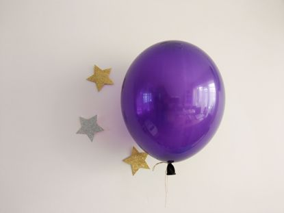 Picture of Purple Balloon Bouquet Pack