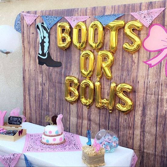 Picture of Rose Gold Balloon Banner Letters 50 & FABULOUS