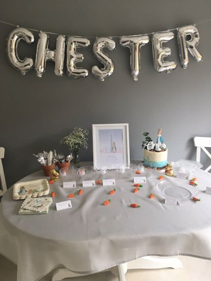 Picture of Rose Gold Balloon Banner Letters AGED TO PERFECTION
