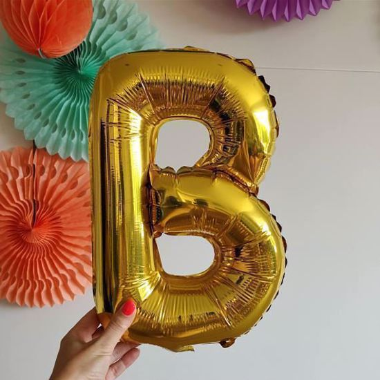 Picture of BATS HALLOWEEN BALLOONS LETTERS GARLAND