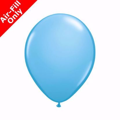 "Picture of 5"" PALE BLUE COLOUR LATEX MINI BALLOONS (50)"