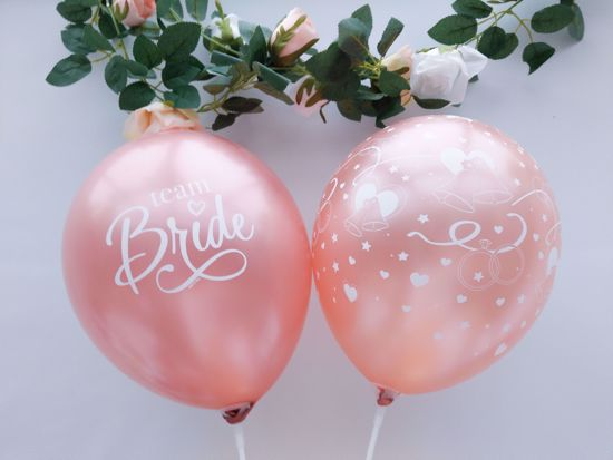 Picture of Rose Gold Balloons Bride To Be Print