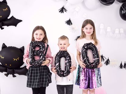 Picture of Boo Balloons, Halloween Balloon banner