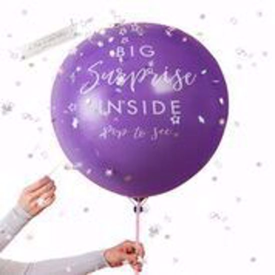 Picture of SURPRISE GIFT REVEAL BALLOON - STARGAZER