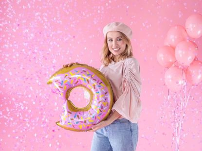Picture of Donut Balloon Birthday Decorations