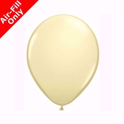 "Picture of 11"" IVORY SOLID COLOUR LATEX BALLOONS (50)"