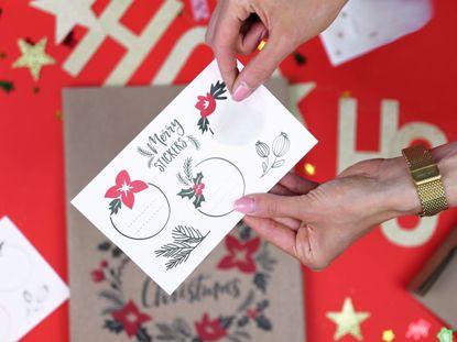 Picture of Christmas Treat Bags Decor Seasonal Festive