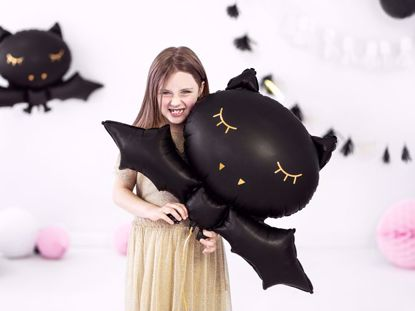 Picture of BAT BLACK FOIL HALLOWEEN BALLOON