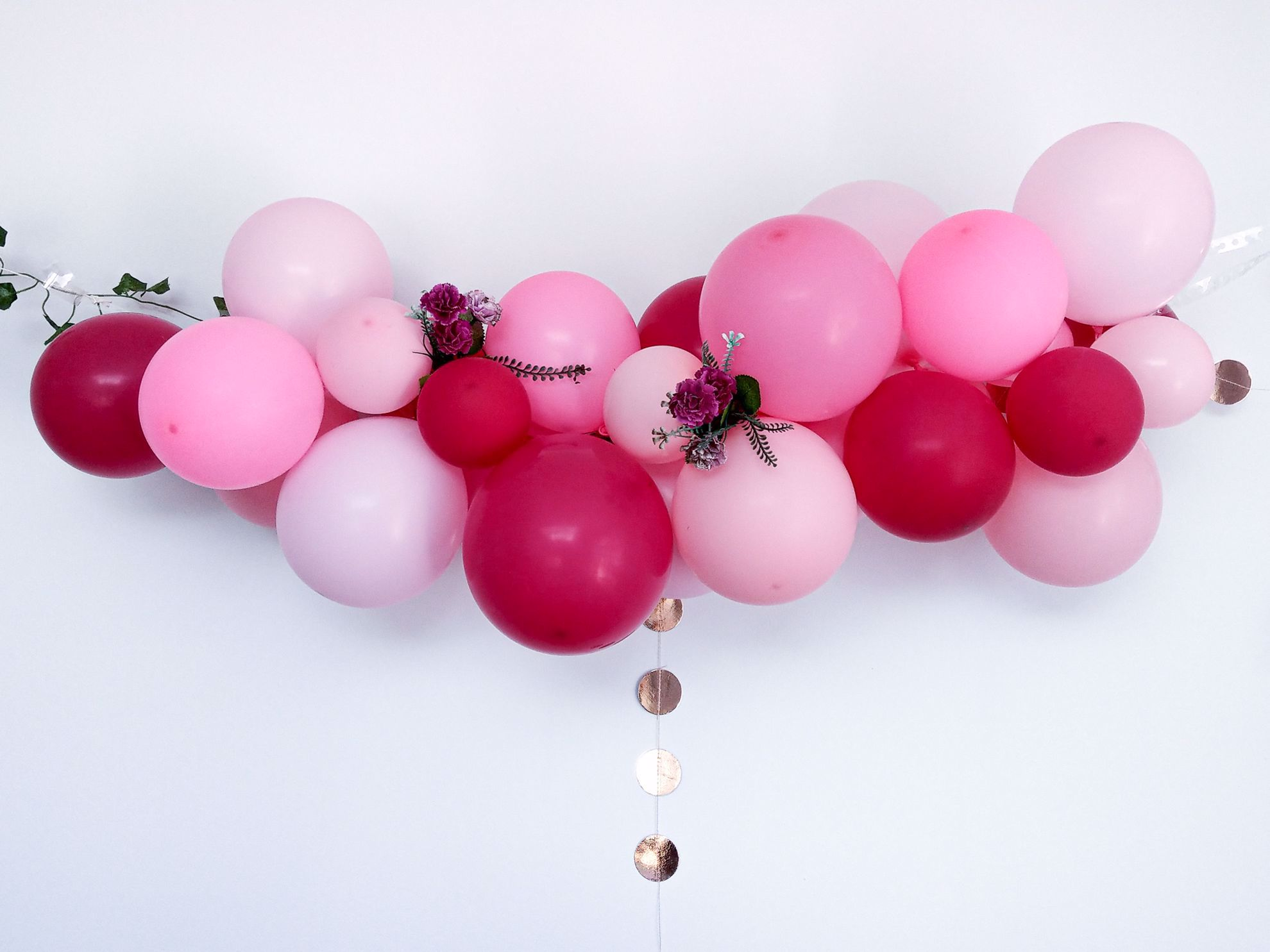 Outofmybubble Pink Balloon Garland Kit Arch Diy