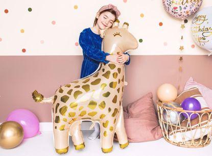 Picture of Giraffe Foil Balloon Animal Safari Party